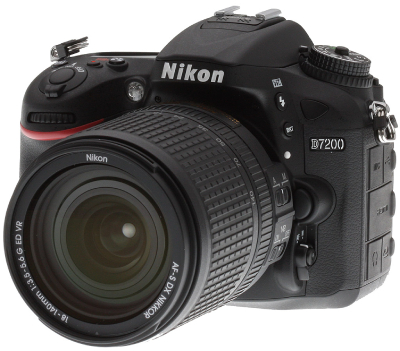 دوربین پرتره Nikon D7200