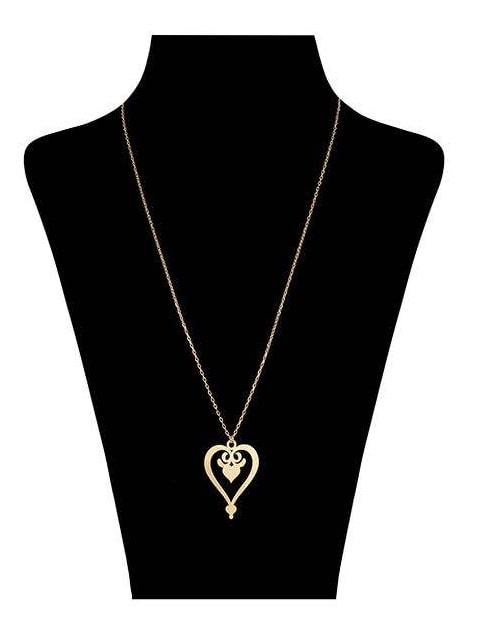 قیمت گردنبند طلا دخترانه