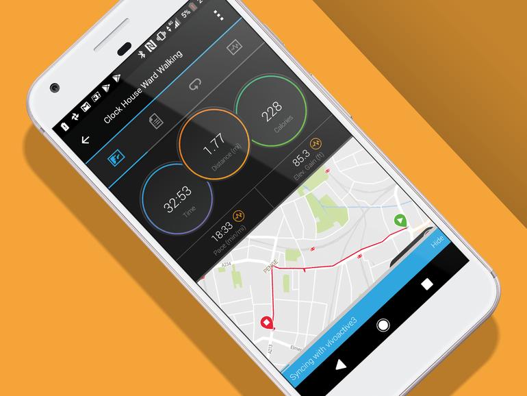 برنامه ردیابی ورزشی ساعت گارمین