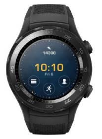 ساعت هوشمند هوآوی واچ 2 مدل Sport Carbon Black