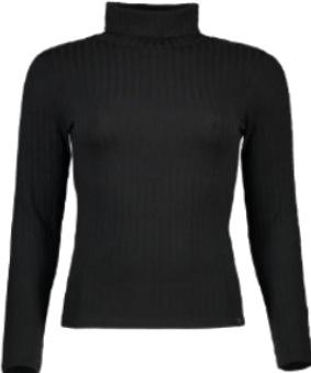 پیراهن زنانه یقه دار مشکی