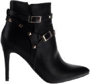 کفش زنانه پاشنه دار مشکی
