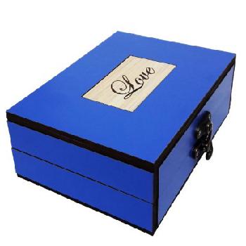 جعبه هدیه چوبی کادو آیهان باکس مدل 71