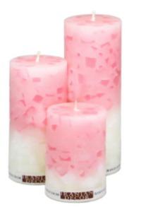 شمع خورده شیشه سه عددی