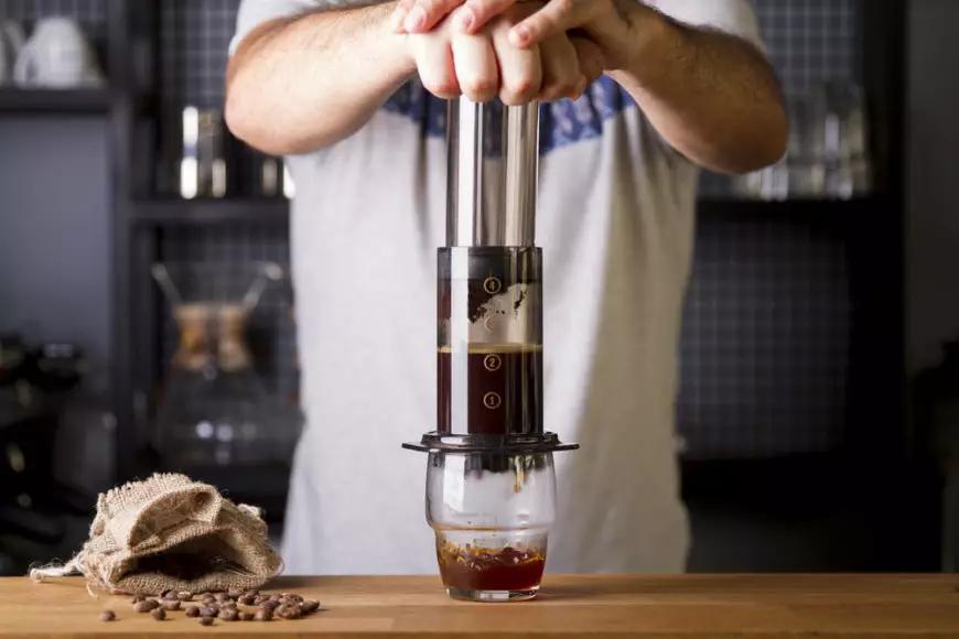 قهوه ساز فشاری