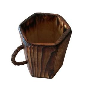 لیوان چوبی