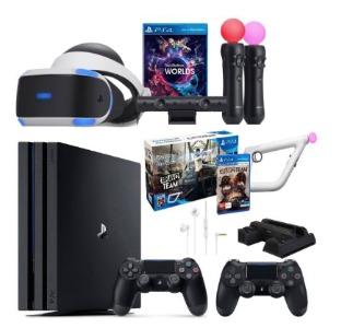 مجموعه کنسول بازی سونی مدل Playstation 4 Pro