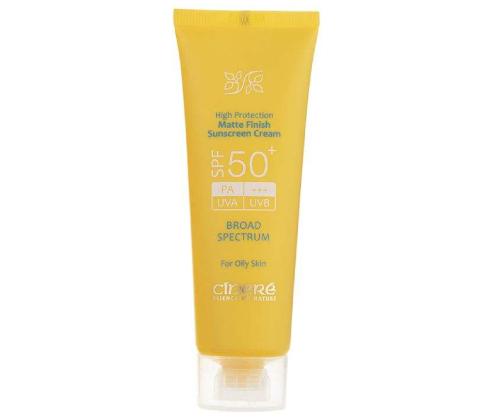 کرم ضد آفتاب سینره مخصوص پوست چرب
