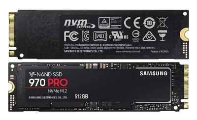 اس اس دی اینترنال سامسونگ مدل 970 Pro ظرفیت 512 گیگابایت