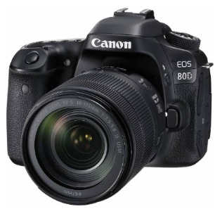 دوربین دیجیتال کانن مدل Eos 80D EF S به همراه لنز 18-135