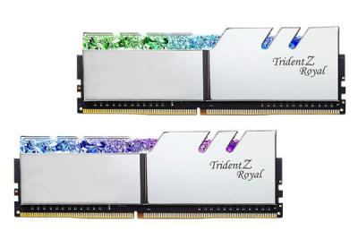 رم دسکتاپ DDR4 دو کاناله 3600 مگاهرتز CL16 جی اسکیل مدل Trident Z Royal ظرفیت 16 گیگابایت