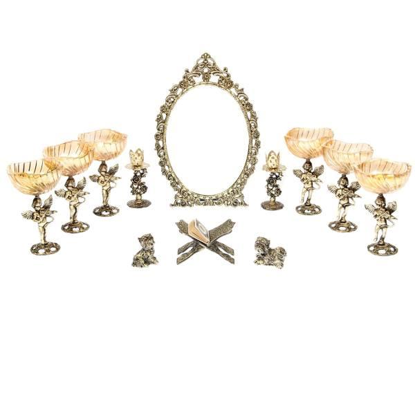مجموعه هفت سین دوازده پارچه مدل فرشته