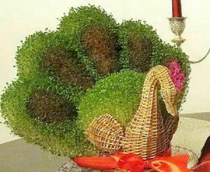 مدل سبزه عید ۳