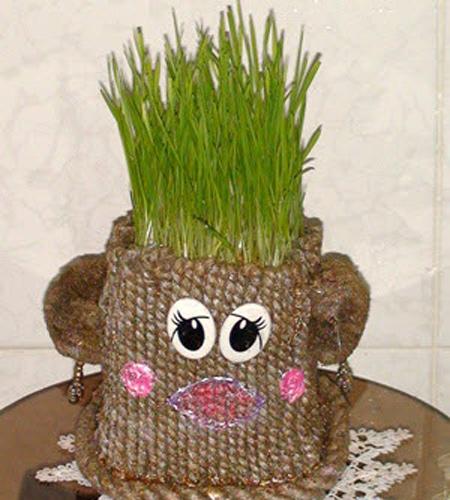 مدل سبزه عید ۴