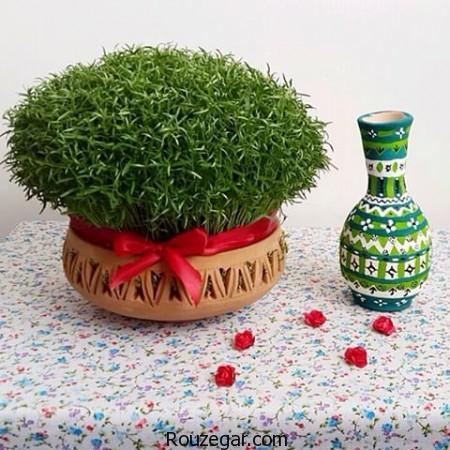 مدل سبزه عید ۹۹ - ۶