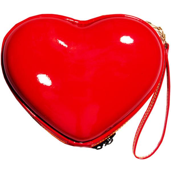 کادو دخترانه کیف لوازم آرایش زنانه مدل قلب