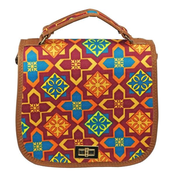 کیف رو دوشی زنانه طرح سنتی