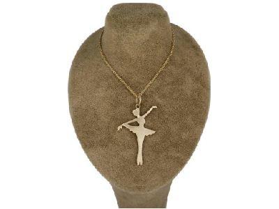 گردنبند دخترانه طرح رقص باله