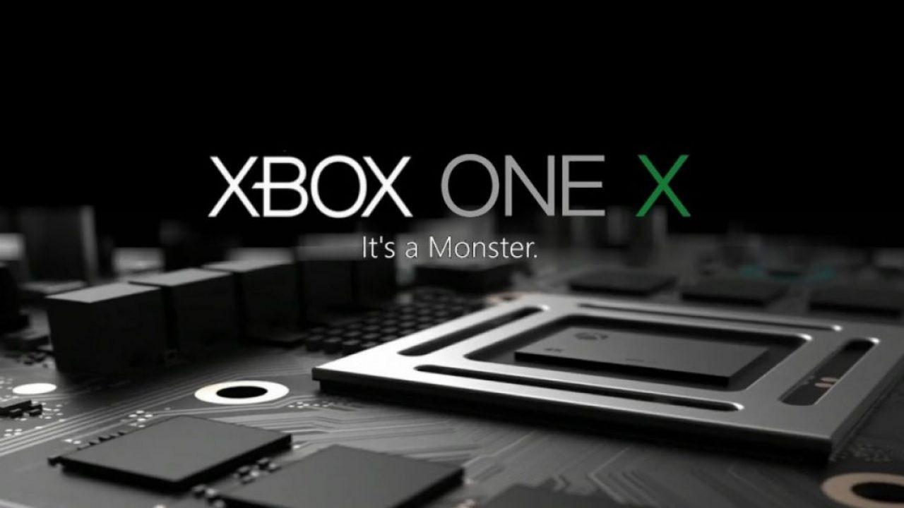 سخت افزار xbox one x