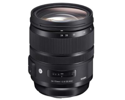 لنز سیگما مدل Art 24-70mm f2.8 DG OS HSM