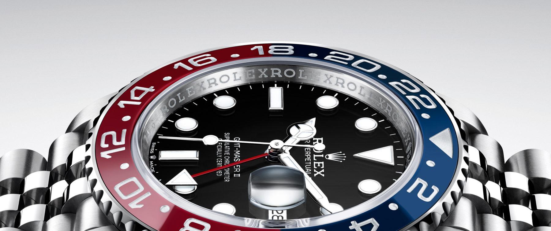 یک مدل ساعت GMT شرکت رولکس