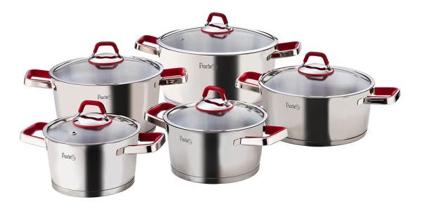 سرویس 10 پارچه پخت و پز پرارین مدل ورتکس