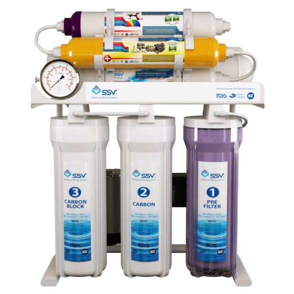 تصفیه آب خانگی اس اس وی مدل MaxTec X700