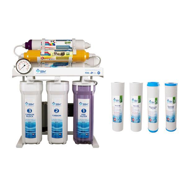 دستگاه تصفیه کننده آب خانگی اس اس وی مدل MaxTec X700