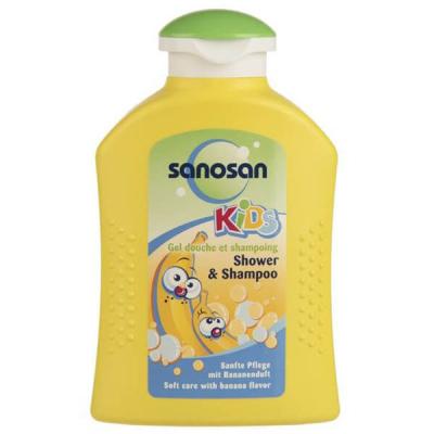 شامپو سر و بدن بچه سانوسان مدل Kids Banana