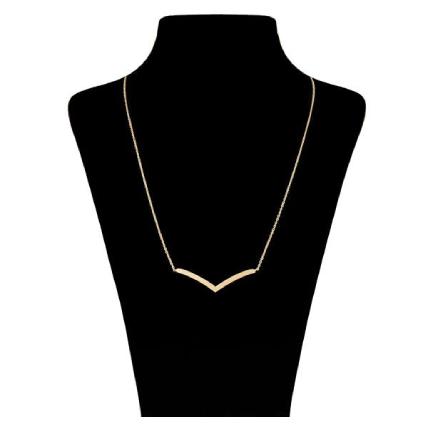گردنبند طلا 18عیار زنانه  ماهک