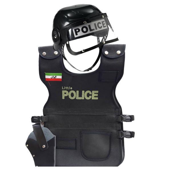 تن پوش طرح پلیس مدل SH16