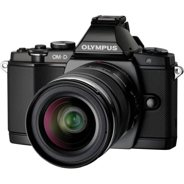 دوربین دیجیتال بدون آینه میکرو سه چهارم الیمپوس مدل OM-D E-M5