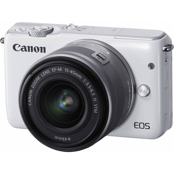 دوربین دیجیتال بدون آینه کانن مدل EOS M10 به همراه لنز 45- 15 میلی متر