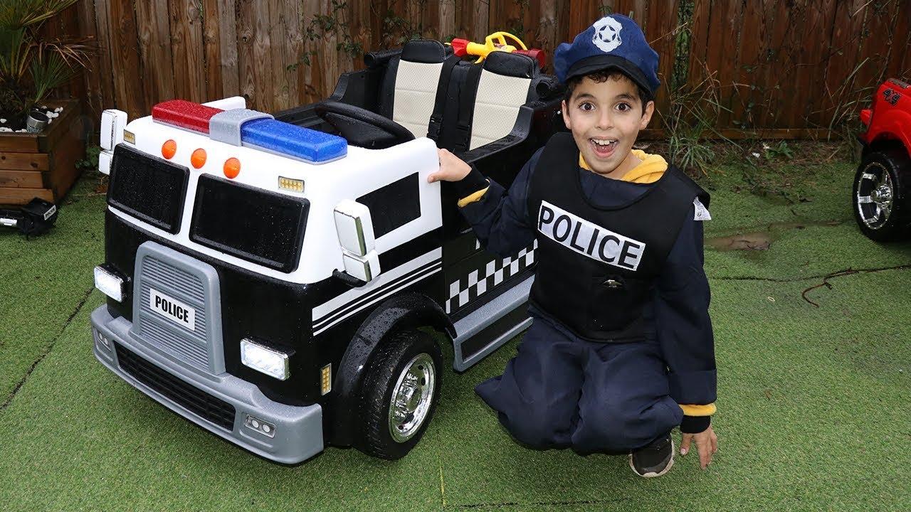 لباس پلیس بچه گانه ۳