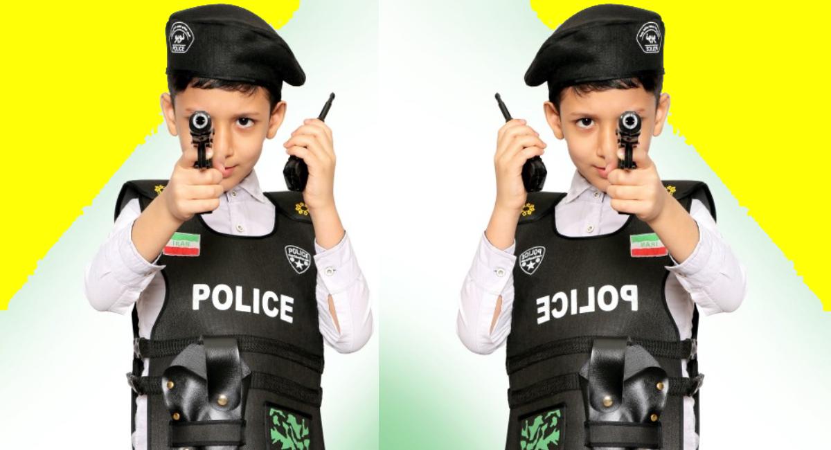 لباس پلیس بچه گانه
