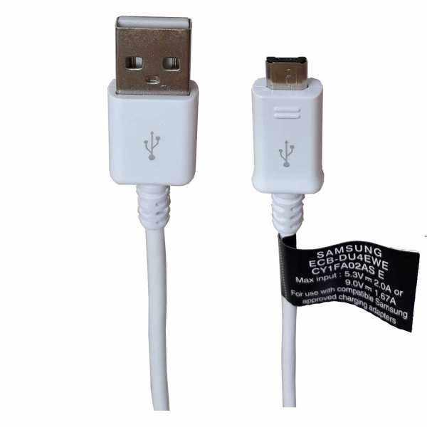 کابل تبدیل USB به microUSB مدل ECB-DU68BE طول ۱.۴ متر فست شارژ