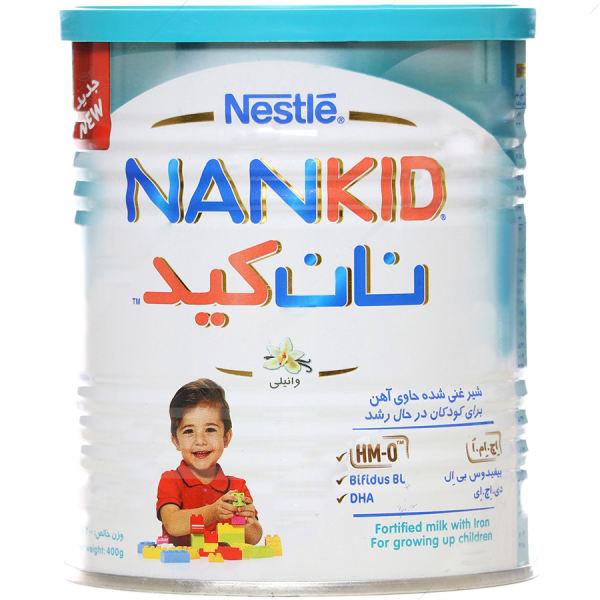 بهترین شیر خشک برای تپل شدن نوزاد شیر غنی شده نستله با طعم وانیل