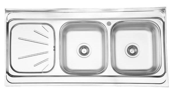سینک ظرفشویی بیمکث مدل BS513 روکار