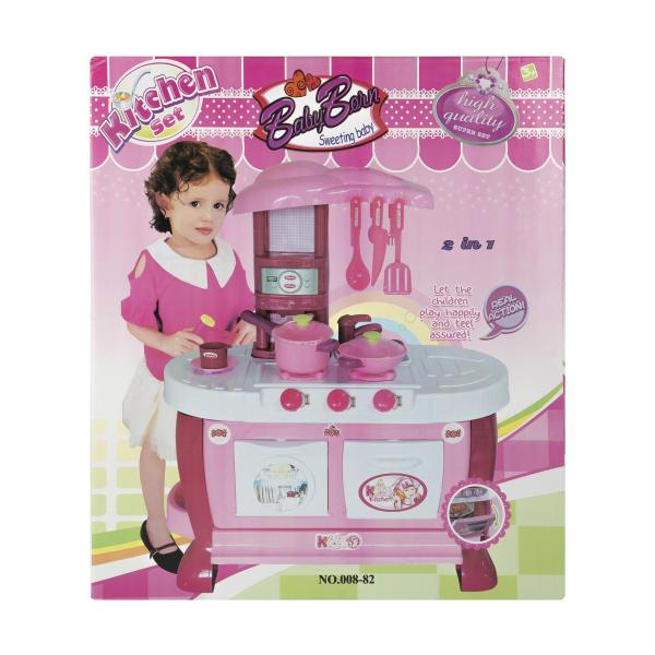 اسباب بازی آشپزخانه بیبی بورن مدل BARBIE KITCHEN