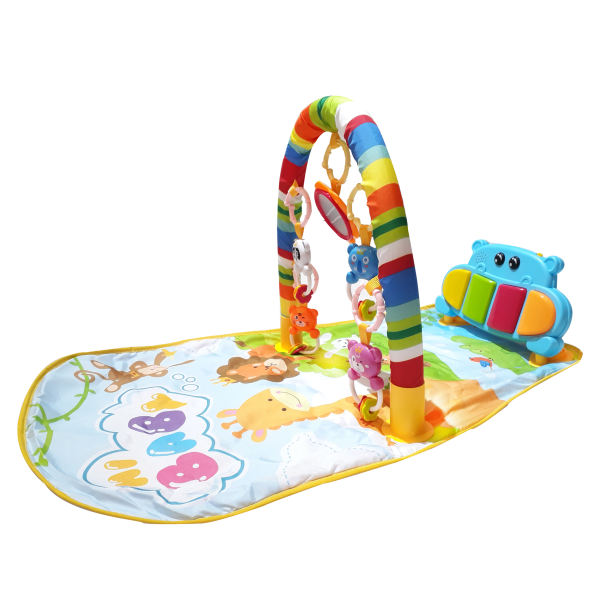 تشک بازی پیانو دار مدل hippopotamus