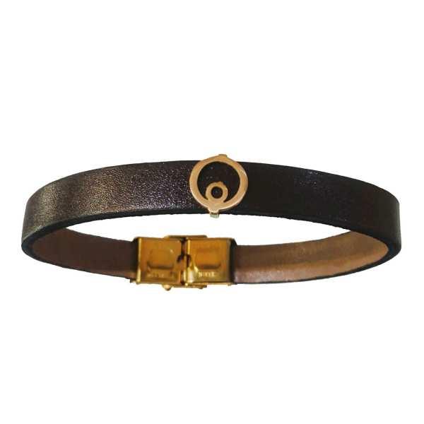 دستبند طلا 18 عیار کانیار گالری مدل انار002
