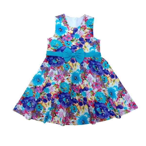 خرید پوشاک بچه گانه دخترانه - سارافون دخترانه مدل گلسا