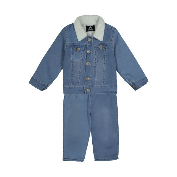 لباس اسپرت پسرانه بچه گانه -ست کت و شلوار پسرانه وستیتی