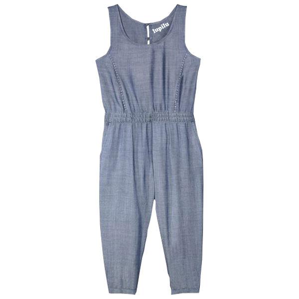 خرید پوشاک بچه گانه دخترانه - سرهمی دخترانه لوپیلو کد 2403