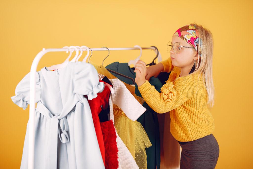سهولت در تعویض لباس بچه گانه دخترانه