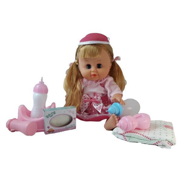 عروسک مدل نوزاد دختر کد 66003