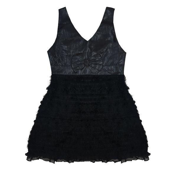 پیراهن دخترانه طرح پاپیون کد ۰۳