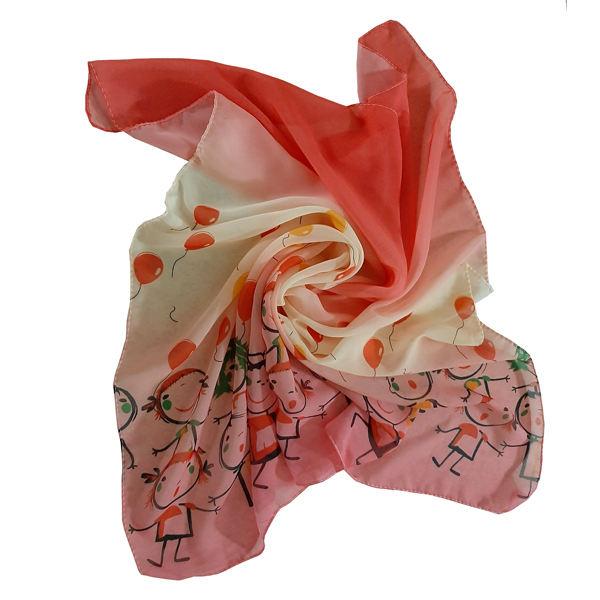 روسری دخترانه مدل تتیس مدل آدمک