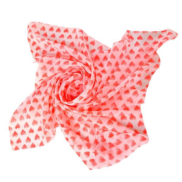 روسری دخترانه مدل تتیس مدل قلب