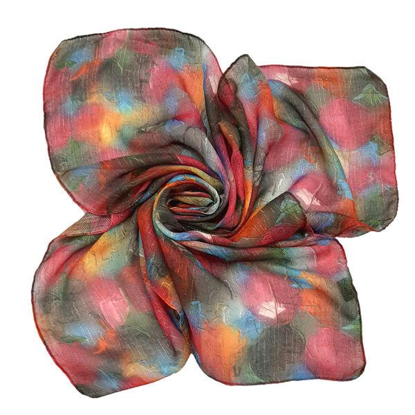 روسری دخترانه مدل تتیس طرح ابروباد